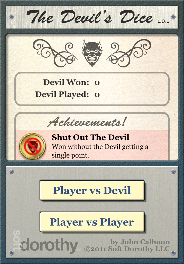 Screenshot The Devil's Dice